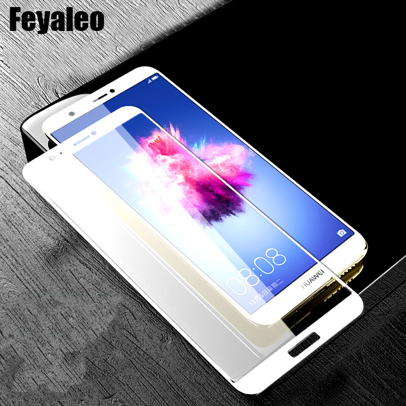 Enjoy 7S Full Cover Screen <font><b>Glass</b></font> Film For Huawei P Smart FIG-LX1 FIG-L31 Psmart Screen Protector Full Coverage 9H <font><b>Tempered</b></font> <font><b>Glass</b></font> image