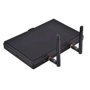 Image 5 - Pantalla de vídeo para multicóptero FPV LCD5802S LCD5802D 5802 5,8G 40CH 7 pulgadas, 800x480 con DVR, batería integrada