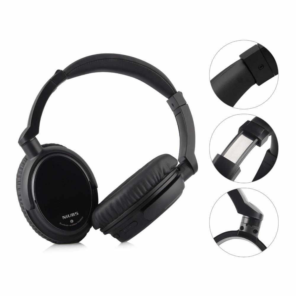 NiUB5 T6 Bluetooth Headset + Bluetooth Modtager Trådløs HiFi - Bærbar lyd og video - Foto 4