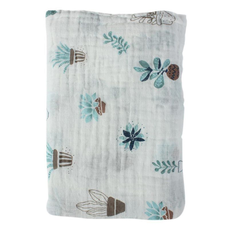Baby Swaddle Muslin Blankets Swaddle 100% Cotton Newborn Soft Baby Bath Towel Swaddle Blankets MultiFunctions Towel