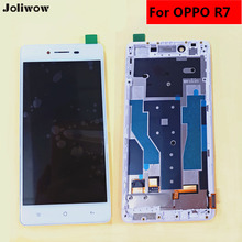 For OPPO R7 LCD Display+Touch Screen+Frame+Tools Digitizer Assembly Replacement Accessories For Phone 5.0