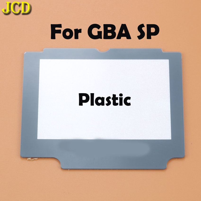 Image 3 - JCD 1pcs Plastic Glass Lens For GBA SP Screen Lens cover For Nintend Gameboy Advance SP Lens Protector W/ Adhensive-in Replacement Parts & Accessories from Consumer Electronics