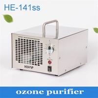 1 pc 3.5-7.0g de aço Inoxidável ajustável purificador de ozônio para uso doméstico e indústria de purificação do ar e esterilização da máquina