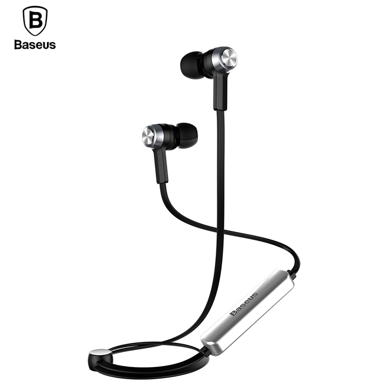 Baseus B11 Magnet Wireless Bluetooth Earphone Sport V4 1 Bluetooth Headset Headphone With Mic Stereo Earbuds