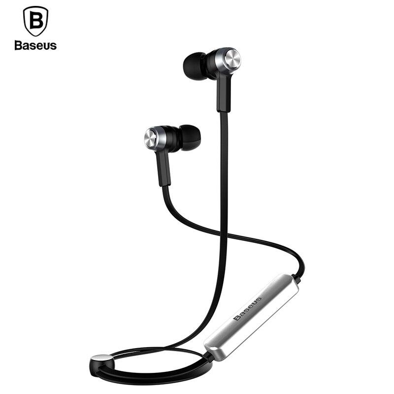 Baseus B11 V4.1 Magnete Senza Fili Bluetooth Auricolare Sport Cuffia Bluetooth Con Microfono Auricolari Stereo Per iPhone Xiaomi