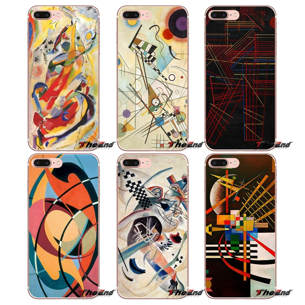 Soft-Case Artistic Xiaomi Redmi Mi-Max Abstract Mi5 For 4-3/3s/Pro/.. Wassily Kandinsky