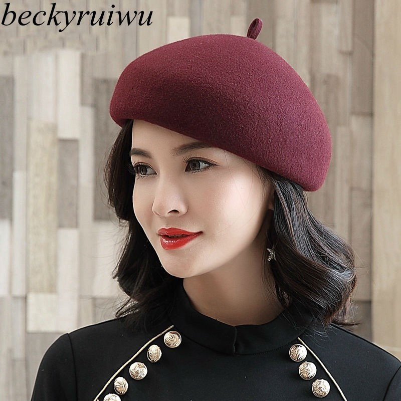 Mother Gift Female Autumn And Winter Party Formal Headwear