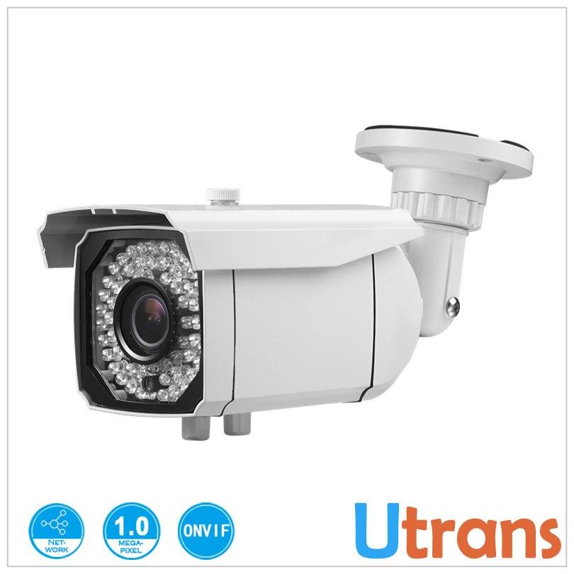 ФОТО IP Camera H.264 Onvif HD Waterproof Outdoor IP Camera HD 720P 50m Night Vision 1.0 Megapixel P2P Cloud IP Network Camera