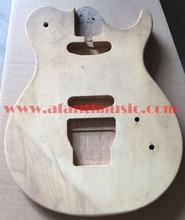 Afanti Musik DIY gitarre DIY e-gitarre körper (AJB-154)