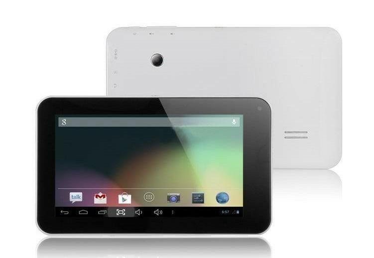 Livraison gratuite Boda double coeur 7 pouces écran capacitif 8G Android 4.2.2 HDMI OTG WIFI GPU Mali 400MP tablette PC double caméra pas cher