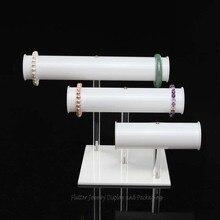 Акриловая подставка для браслетов стенд 3 слоя отображающая время чехол браслет держатель ювелирные изделия подставки Headware Организатор