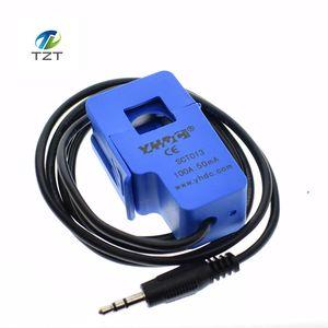Image 4 - Capteur de courant alternatif 100A de transformateur de courant alternatif de noyau fendu Non invasif de 5 pièces SCT 013 000