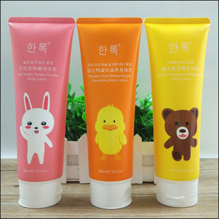 1 piece flower fragrance body lotion nourishing moisturizing hydrating brighten smooth body emulsion cream dry skin 300ml J1806
