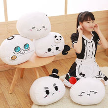 Cloud Pillow Cotton Home Sofa Smile Soft Toy Kawaii Emoji Face Europe Cartoon Cushion Cute Smiley Gift