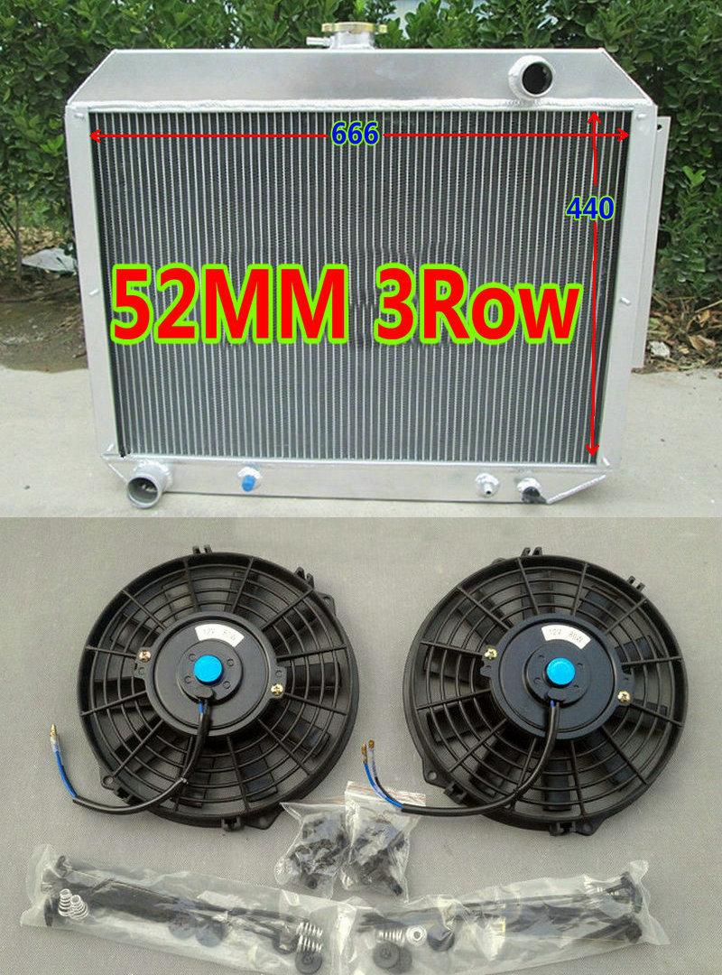 ALUMINUM RACING RADIATOR for 68-72 Plymouth GTX 1968 1969 1970 1971 1972 3-ROW