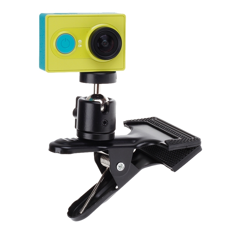 Xiaomi YI 360 Degree Quick Release Rotary Backpack Hat Clip Fast Clamp Mount For GoPro Hero 2 3 3+ for Go pro Accessories