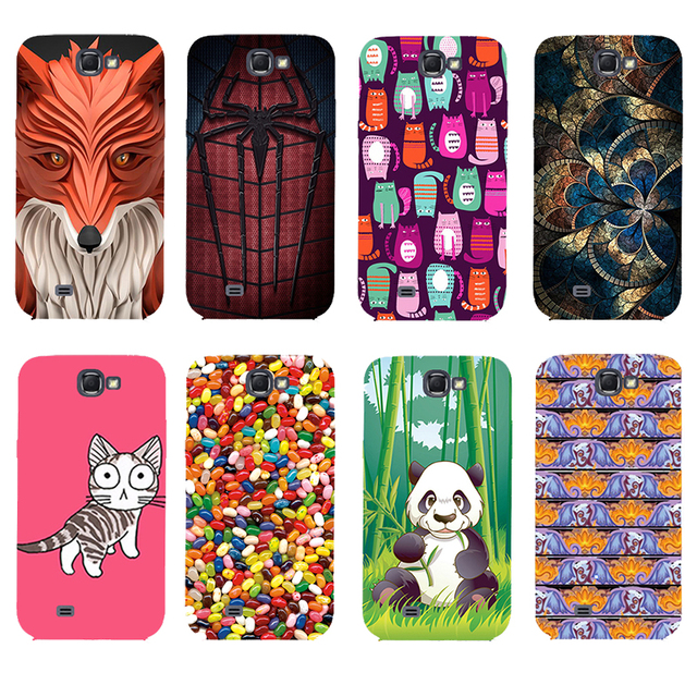online store 90bb7 7fb21 US $3.98 |Fashion Printed Case For Samsung Galaxy Note 1 N7000 i9220 Note1  Cover Original Cute Printing Drawing Hard Plastic Phone Case on ...