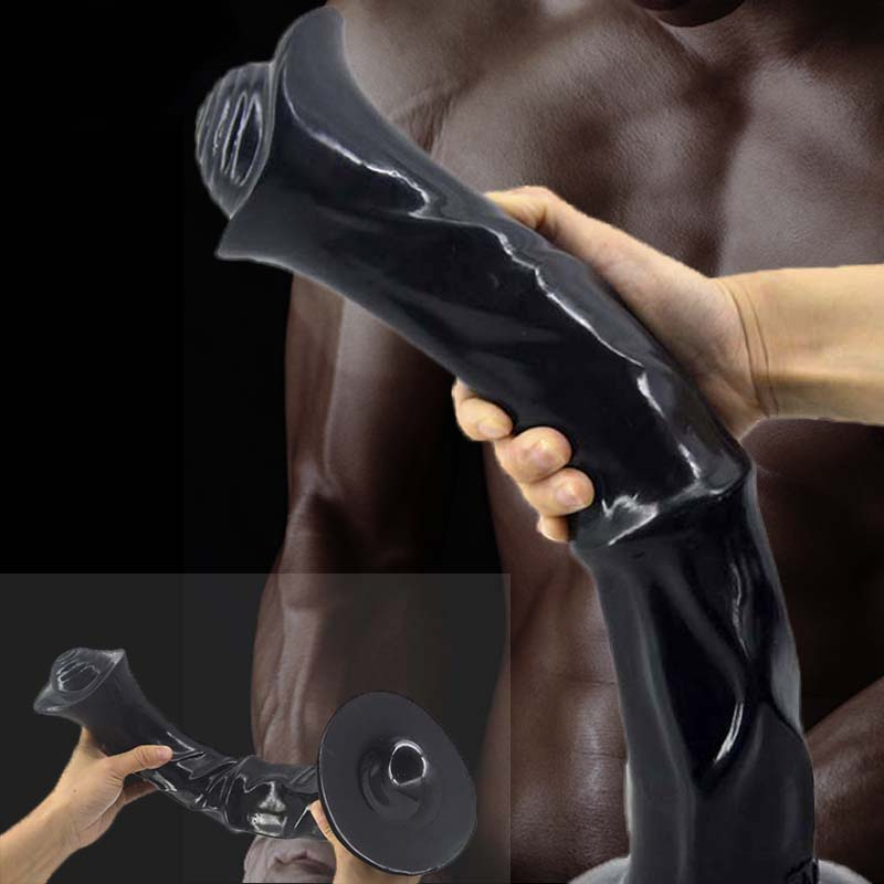 Animal Type Medium Horse Anal Plug Dildo Huge Sex Toy For Fetish Massage Masturbation Suction Cup No Vibration Adult Hot Product