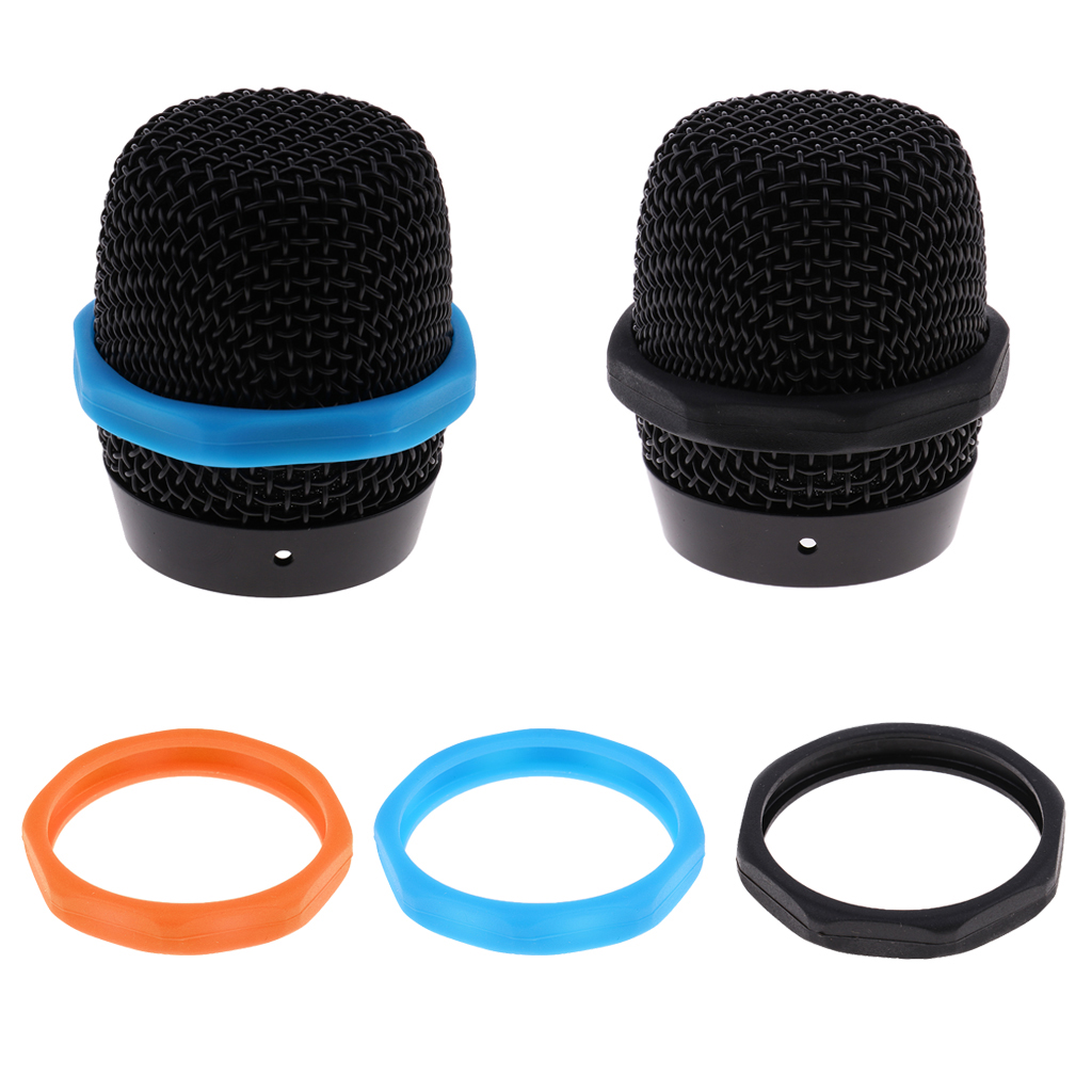 5 Pcs Microphone Slip Anti-Rolling Protection Ring Mic Silicone Ring For Wireless Microphone Shock Mount