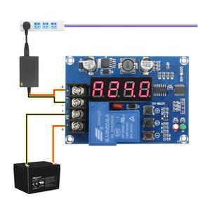 Image 2 - תשלום שליטת מודול 6 60V אחסון ליתיום סוללה טעינת הגנת לוח מטען בקר עבור 12v 24v 48v סוללה XH M600