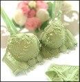 ¡ Caliente! 2015 nueva Marca de Algodón Mujeres sexy push up bra set en forma de corazón lindo 32 34 36 Abc copa Envío gratis