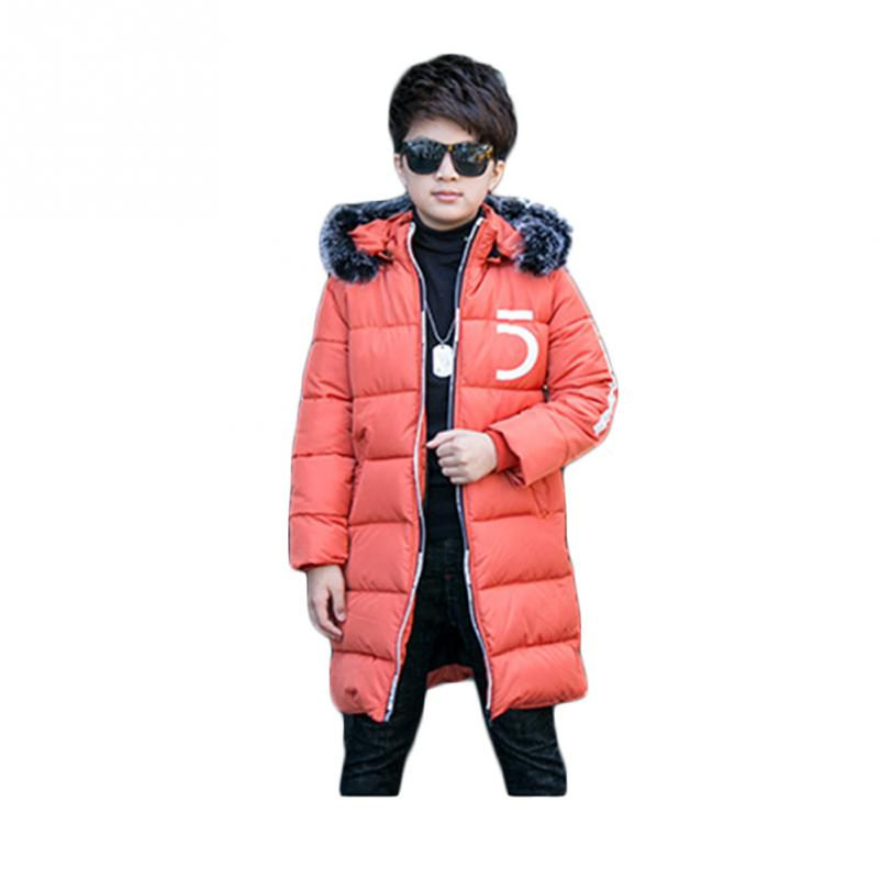 Clearance winter Children Boys Keep warm thicker hooded baby boys kids Cotton-padded Coats winte