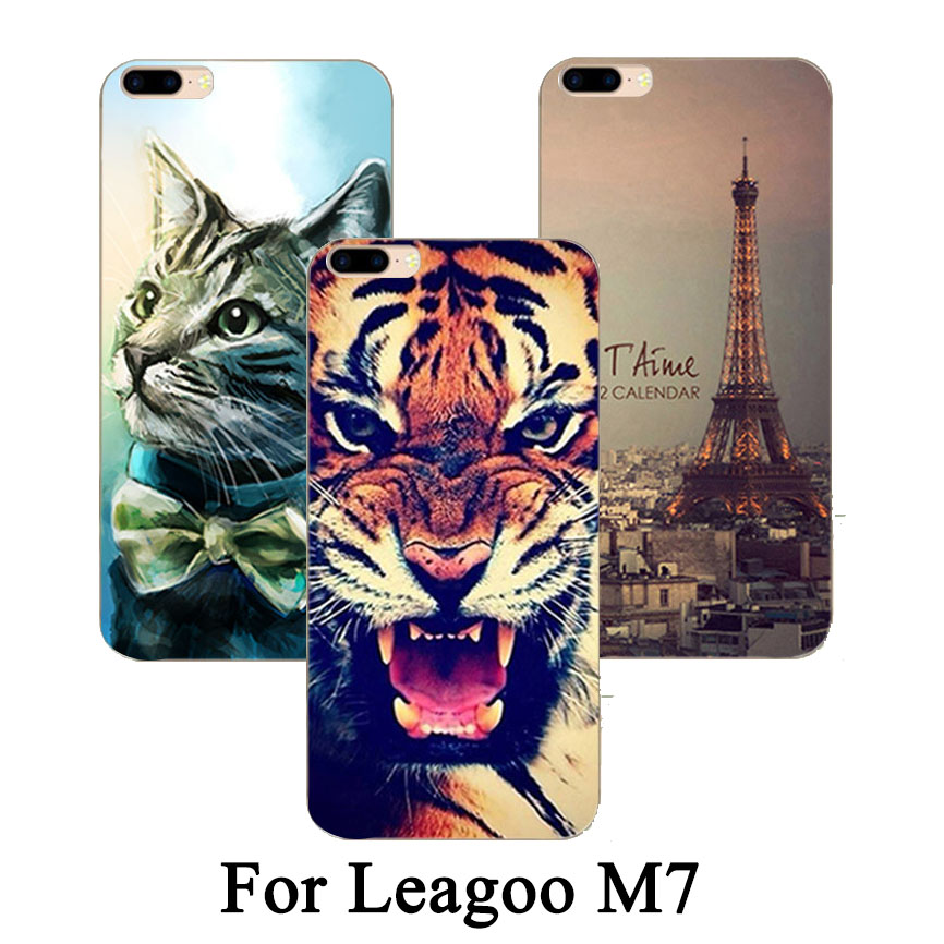 Fashion New Style Luxury Design Hard Case For leagoo M7 Best Brilliant Painting Fashion Colorful cover for leagoo M7