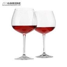 DUH Trinken Tools Geschenke Wine Bleifreie Kristall Hanap Weinglas 650 ml Hochzeit Gläser Für Champagner Rotwein 2 stücke Pro Set