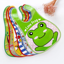 MUQGEW Mouth To Baby Cloth Baby Waterproof Cute Kid Infant Bibs Baby Soft Cartoon Bib Waterproof Saliva Dripping Bibs