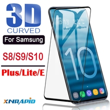 for Samsung galaxy s10 plus toughened glass shell For samsung s10+ s10e + 10s 3d curved protective
