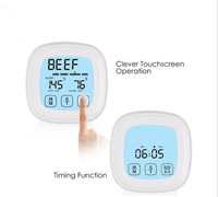 BBQ Dinning Temperature Kitchen Digital Thermometer Meat Cake Candy Fry Food Household Thermometers Cooking Termometro