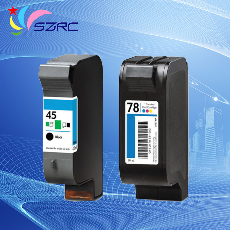 Original new 51645A C6578D 45 78 ink cartridge For HP 710c 815C 1180c 1280c Printer