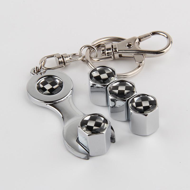 Set Bouchons de Valve de Pneu de v/élo en Alliage daluminium anodis/é Capuchon de Valve de Style fran/çais Noir Mouchao4762 4pcs