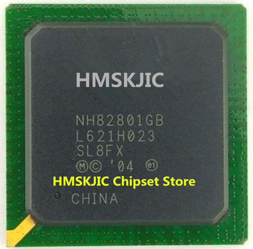100% Nouveau NH82801GB SL8FX sans plomb BGA puce avec balle Bonne Qualité