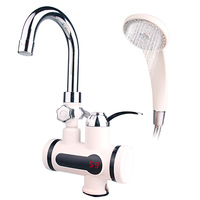 3000W Temperature Display Instant Hot Water Tap Tankless Electric Faucet bathroom Instant Hot Faucet Water Heater Water Heating
