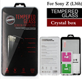 Для Xperia Z L36H Закаленное Стекло-Экран Протектор для SONY Xperia Z L36H L36i Юга C6603 C6002 Премиум Защитная Пленка