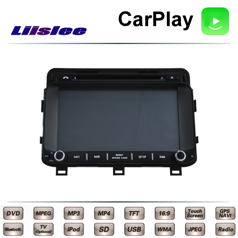 Pour KIA K5 Kia Motors MK3 TF 2010 ~ 2015 LiisLee voiture multimédia TV DVD GPS Radio Carplay Style Original Navigation Navi