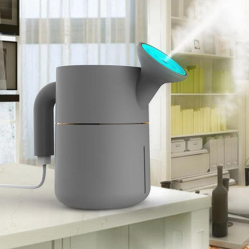 Kettle Shape Mini Portable USB Car Humidifier Air Purifier Aromatherapy Essential Oil Aroma Diffuser Steam Mist Maker джемпер morgan morgan mo012ewvae76