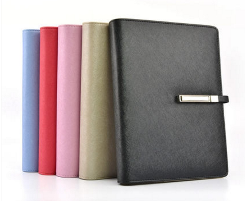 PU leather spiral loose leaf refillable hardcover notebook personal diary filofax planner agenda schedule notepad binder A6 pu leather spiral loose leaf refillable travel journal zipper dokibook notebook filofax planner agenda notepad binder a6
