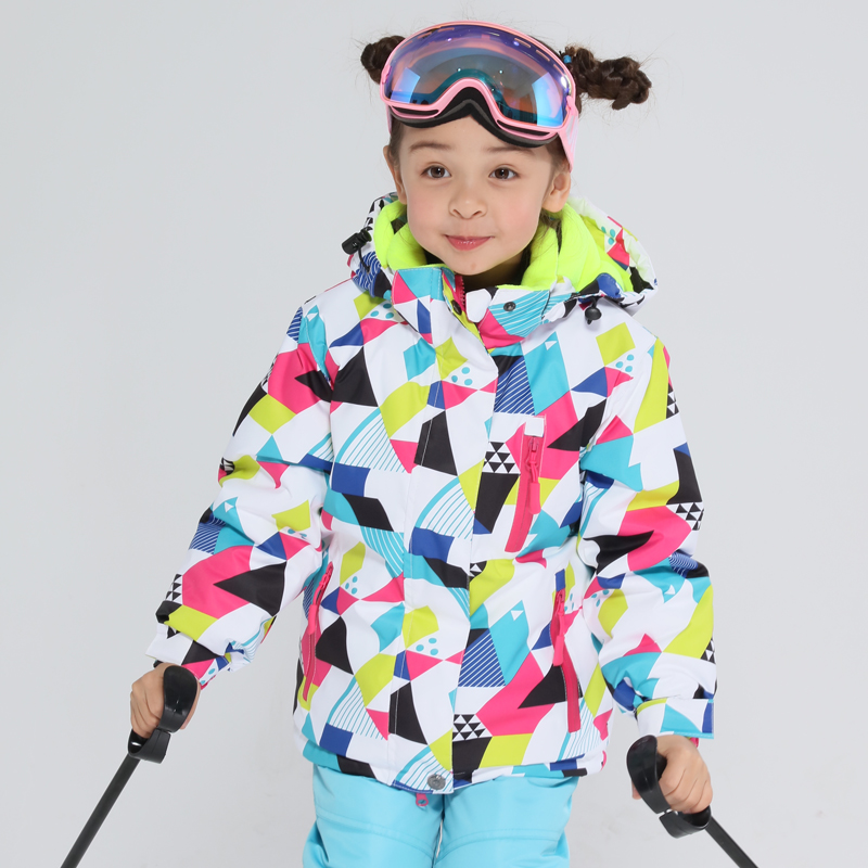MT Kids Ski Jacket Winter Children Windproof Waterproof Super Warm Ski Clothes Girls Snow Coat -30 Winter Snowboard Jacket