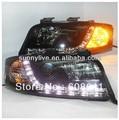 LED Head Light For Audi A6 LED head lamp 1997 - 2001 year V1 Type