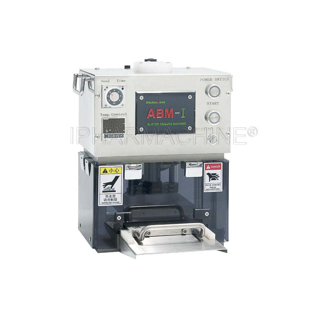 ABM-III Automatic Blister Card Sealing Machine with One Custom made Mold(110V 220V) low noise terminal crimping machine 1 5t with vertical mold or horizontal mold or single grain mold