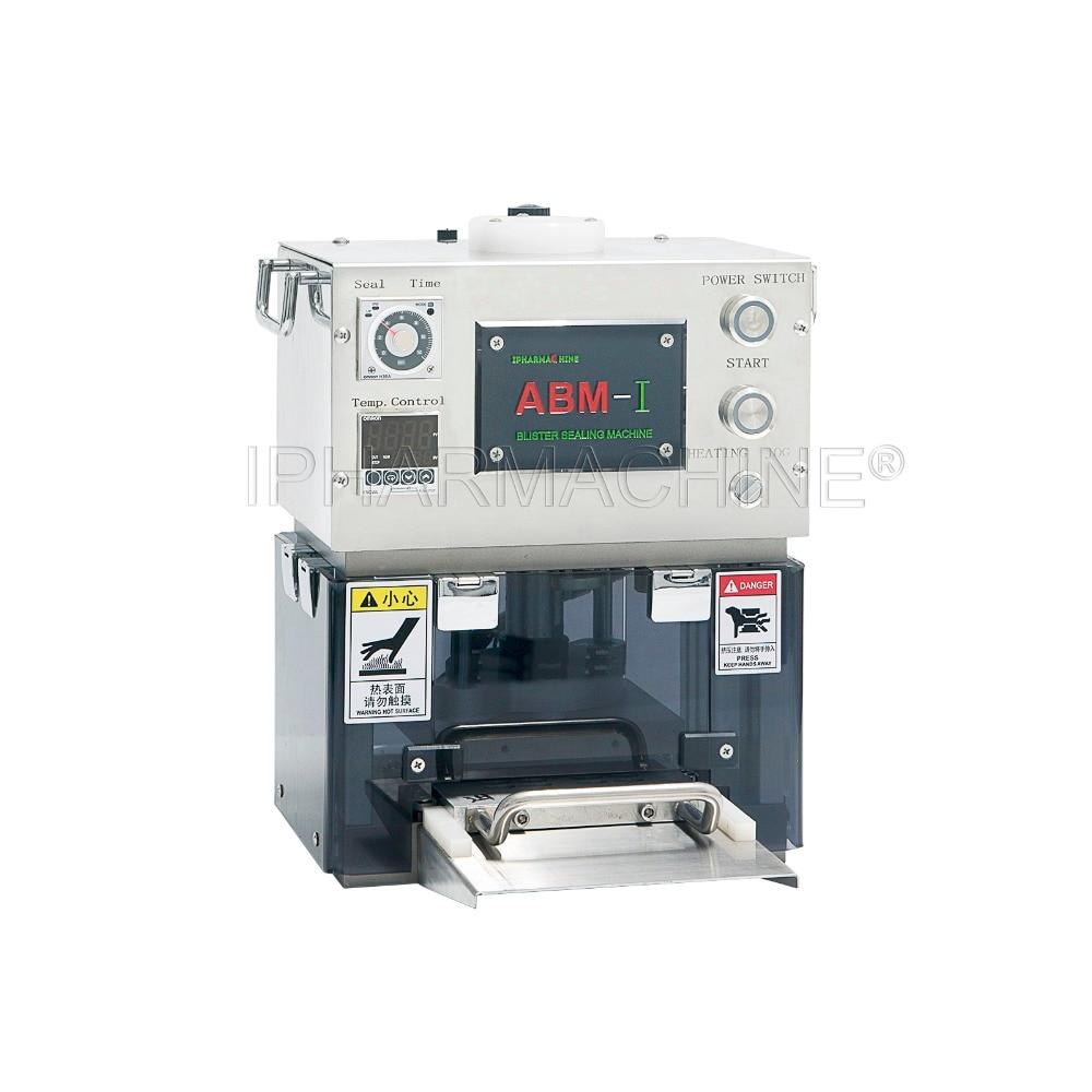 ABM-I Automatic Blister Card Sealing Machine with One Custom made Mold(110V 220V) apecs pdb 20 20 blister