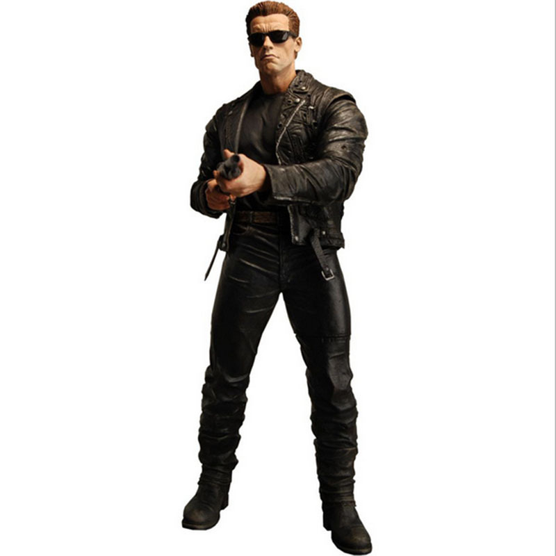 Free shipping 2016 new hot sale movie The <font><b>Terminator</b></font> model action figure PVC toy HT2759