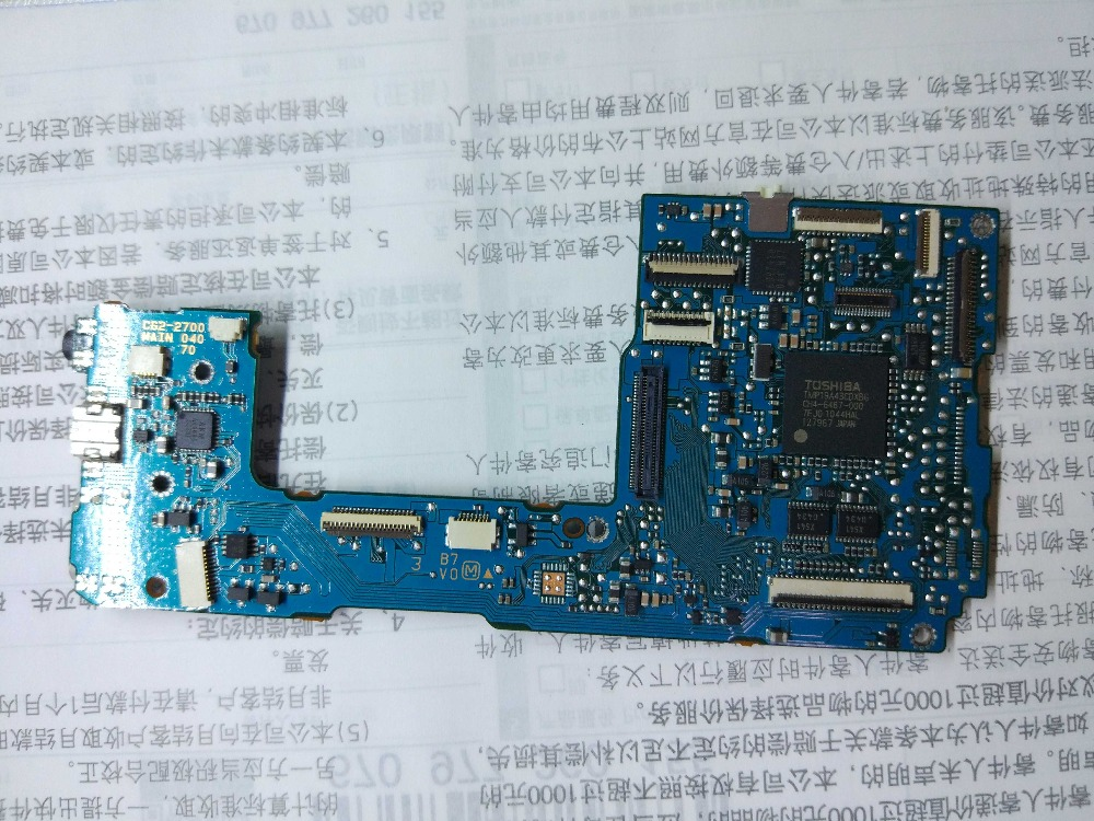 FREE SHIPPING! 90%New 550D motherboard For canon 550D main board 550D mainboard T2i Kiss Digital X4 camera parts free shipping 95%new motherboard for canon ef s 55 250 mm f 4 5 6 is ii mainboard main board camera repair parts