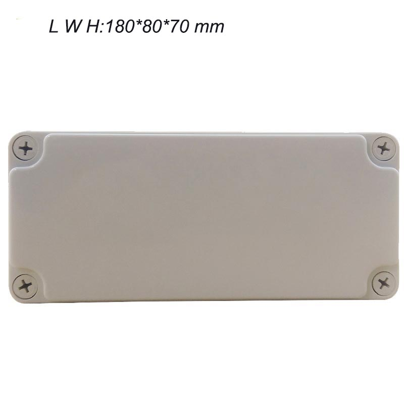 5b765186e 180*80*70mm plastic boxes electronics enclosure waterproof junction box