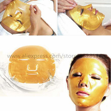 5pcs Gold Crystal Collagen Facial Mask Face Masks Moisture Essence Skin Care