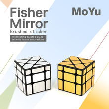 New arrival Moyu MoFangJiaoShi Fisher Mirror Cube Puzzle Magic Twisty Learning Educational Kids font b Toys