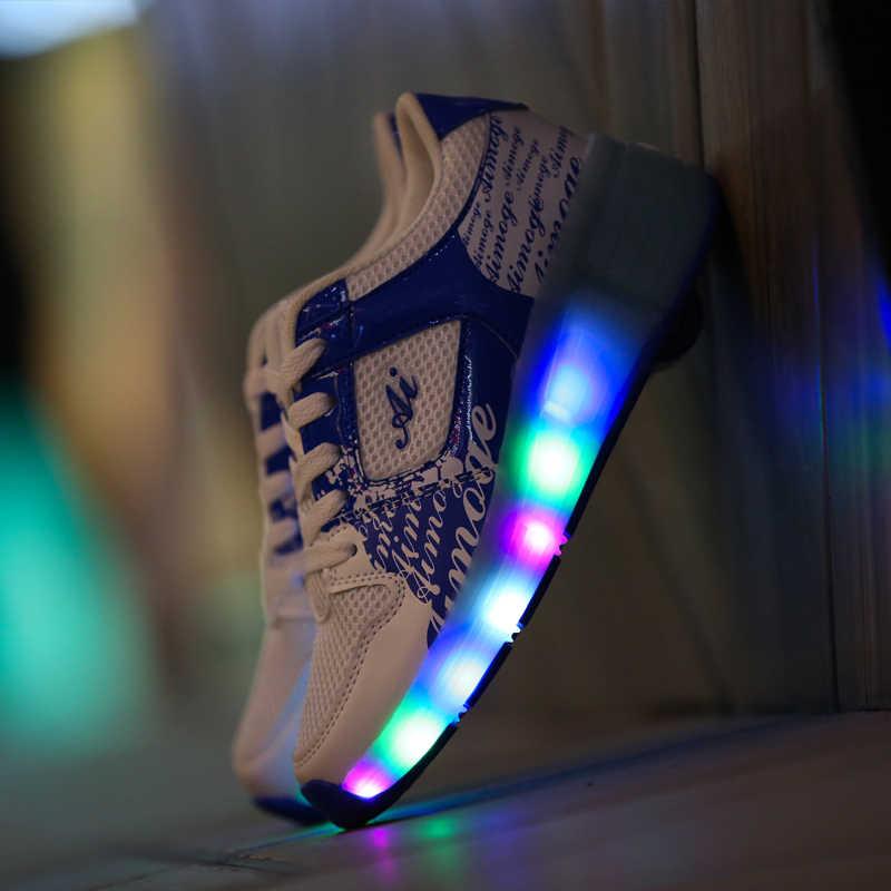 Aimoge Roller Sneakers Shoes Children