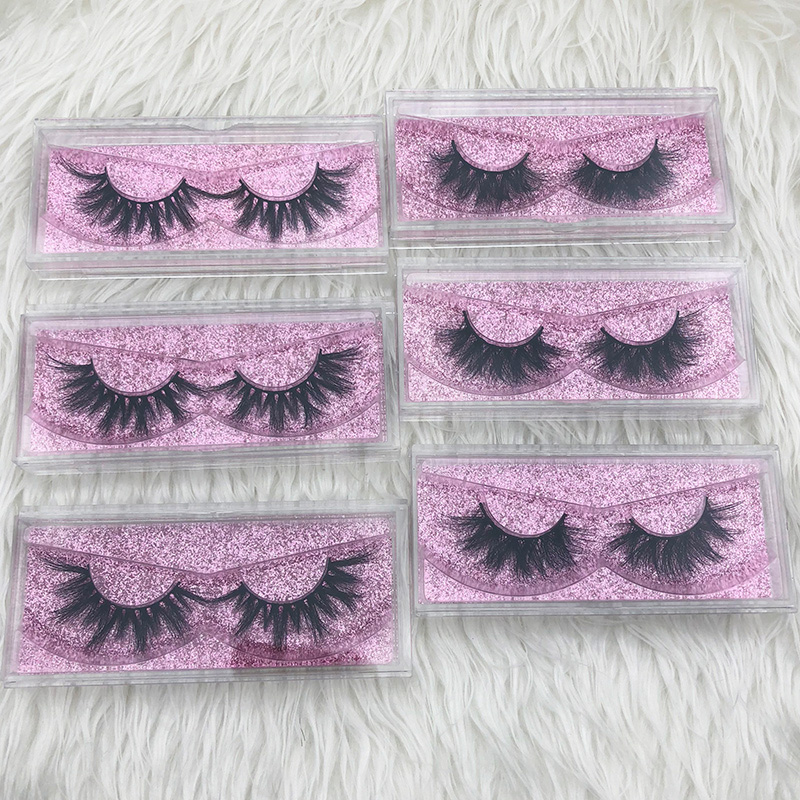 4860e70da98 Mikiwi Thick Long 5D mink eyelashes long lasting mink lashes natural ...